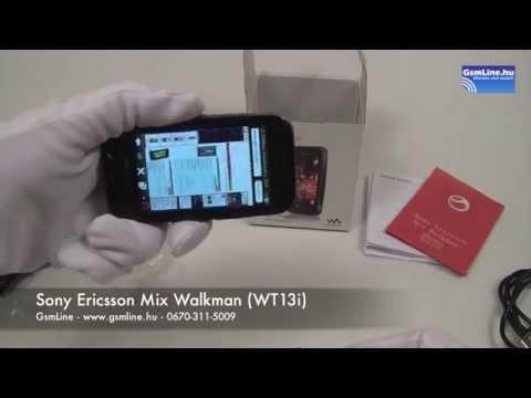 Sony Ericsson Mix Walkman | GsmLine.hu