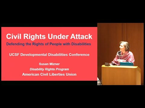 The ACLU and Promoting Quality of Life for People with Developmental Disabilities