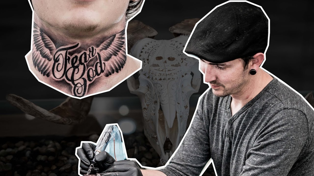54a37a390 Tattoo Highlights by Chris Youngblood - Neck Tattoo - The Skull Museum