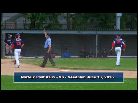 4513 1 Norfolk Legion Post 335  VS Needham June 13, 2016