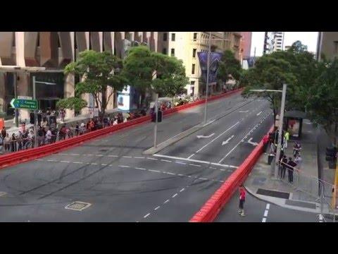Perth SpeedFest 2015 Daniel Ricardo Red Bull Perth Streets