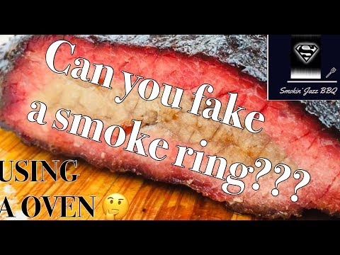 CAN YOU FAKE A BBQ SMOKE RING WITH A OVEN ?   HOW TO SMOKE CHUCK ROAST USING THE PIT BOSS AUSTIN XL