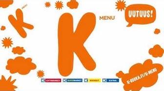 K-Menu – Kyllä on halpaa