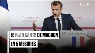 Fin du numerus clausus, assistants médicaux : le plan santé de Macron en 5 mesures