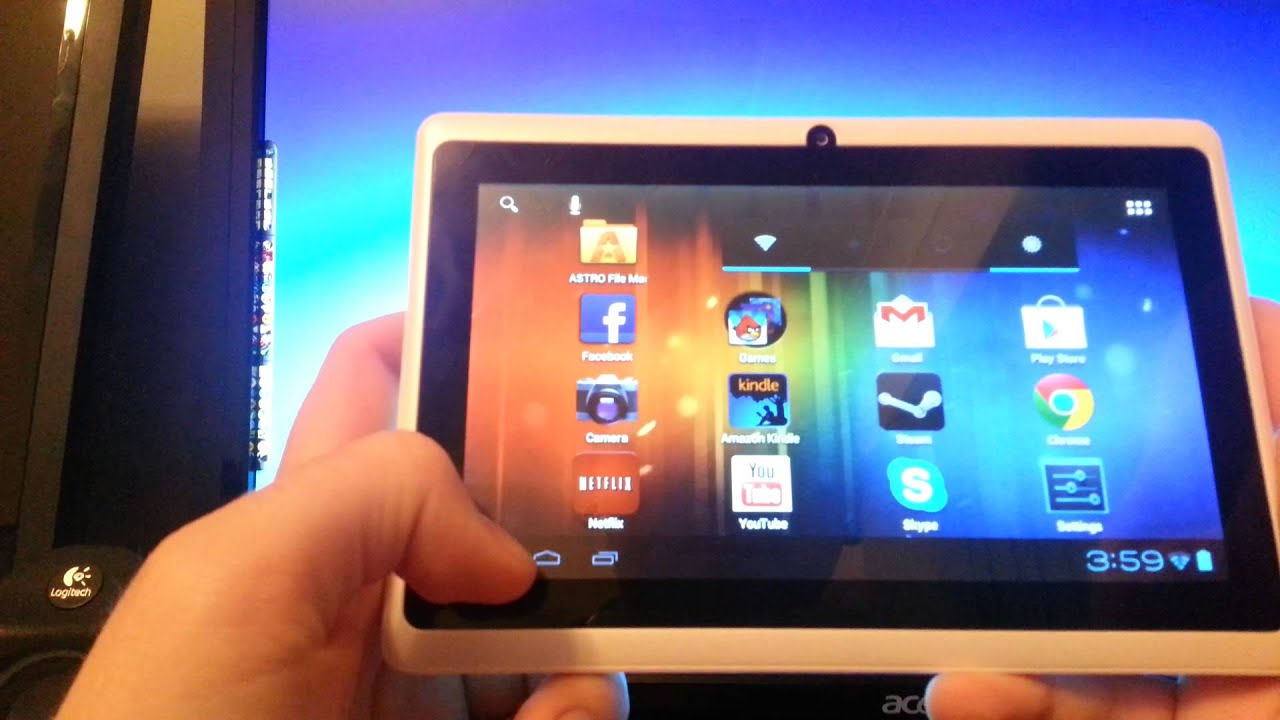 install firmware to a tablet from pc