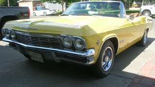 Mike's 1965 Chevrolet Impala Super Sport SS Convertible FOR SALE