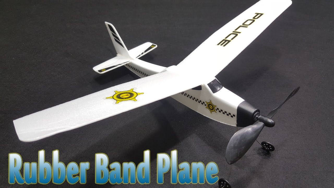 Rubber Band Plane with DIY KIT