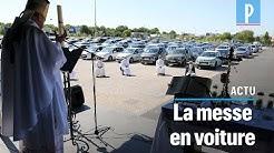 A Châlons-en-Champagne, la messe reprend sur un parking