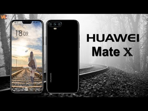 Huawei Mate X Introduction, Features, Camera, Launch, Specs, Launch - Huawei MateX Concept