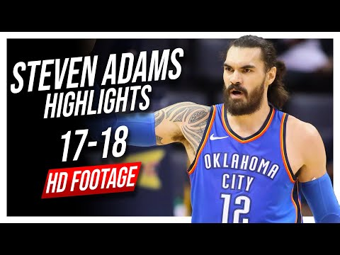 Thunder C Steven Adams 2017-2018 Season Highlights ᴴᴰ