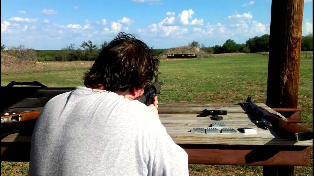 Shooting Ar 15 Iron Sights 100 Yards Youtube