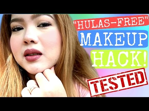 MAKEUP HACK THAT WORKS! PARA SA OILY SKIN AT HUMID WEATHER! (11 HR WEAR TEST) | PhillineInaVlogs