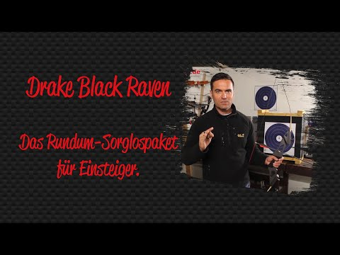 Drake Black Raven - Recurve-Rundum-Sorglospaket für Einsteiger