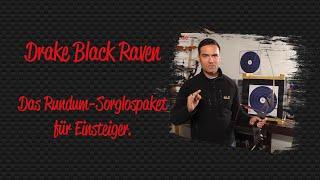 Recurvebogen Drake Black Raven 58 Zoll 40 lbs