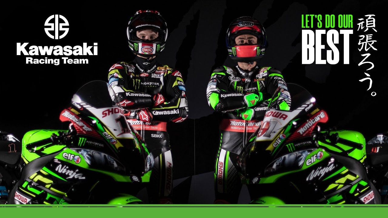 Kawasaki Racing Team 2019 Ganbarou Let S Do Our Best Youtube