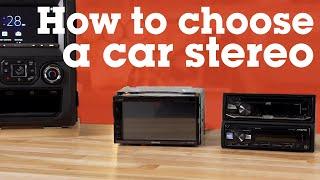 How to Choose a Car Stereo | Crutchfield