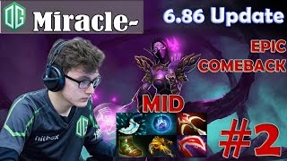 Miracle- Templar Assassin Pro Gameplay | EPIC COMEBACK vs !Attacker | Dota 2 MMR #2