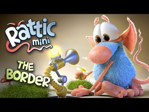 Funny Cartoon   Rattic Mini–The Border   Funny Cartoons For Children & Kids   Funny Kids Videos