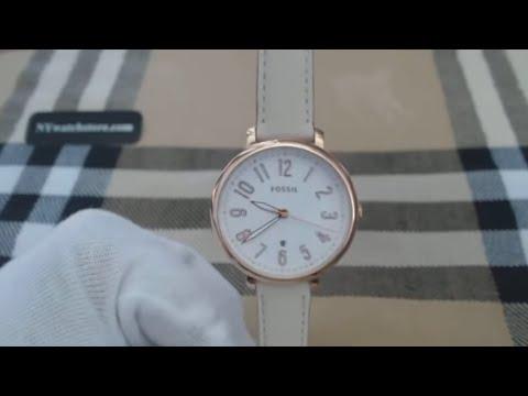 Women's Fossil Jacqueline Rose Gold Watch ES3943