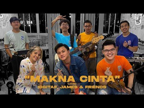 Rizky Febian - Makna Cinta (Keroncong Version) with Idgitaf, James & Friends