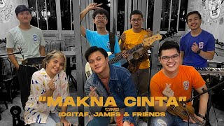 Rizky Febian - Makna Cinta (Keroncong Version) with Idgitaf, James & Friends