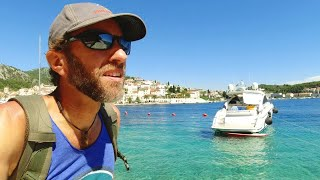 ONE DAY IN HVAR, CROATIA | Swimming in the Adriatic Sea