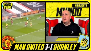 LIVERPOOL FAN REACTS TO MAN UNITED 3-1 BURNLEY HIGHLIGHTS