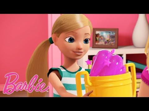 Barbie Deutsch   Barbie & Chelsea Tanzparty 🎵💖Barbie - Die Videospiel-Heldin 💖Barbie-Film 💖