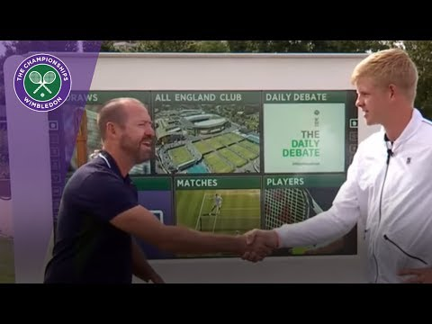 Wimbledon 2017 - Kyle Edmund interview