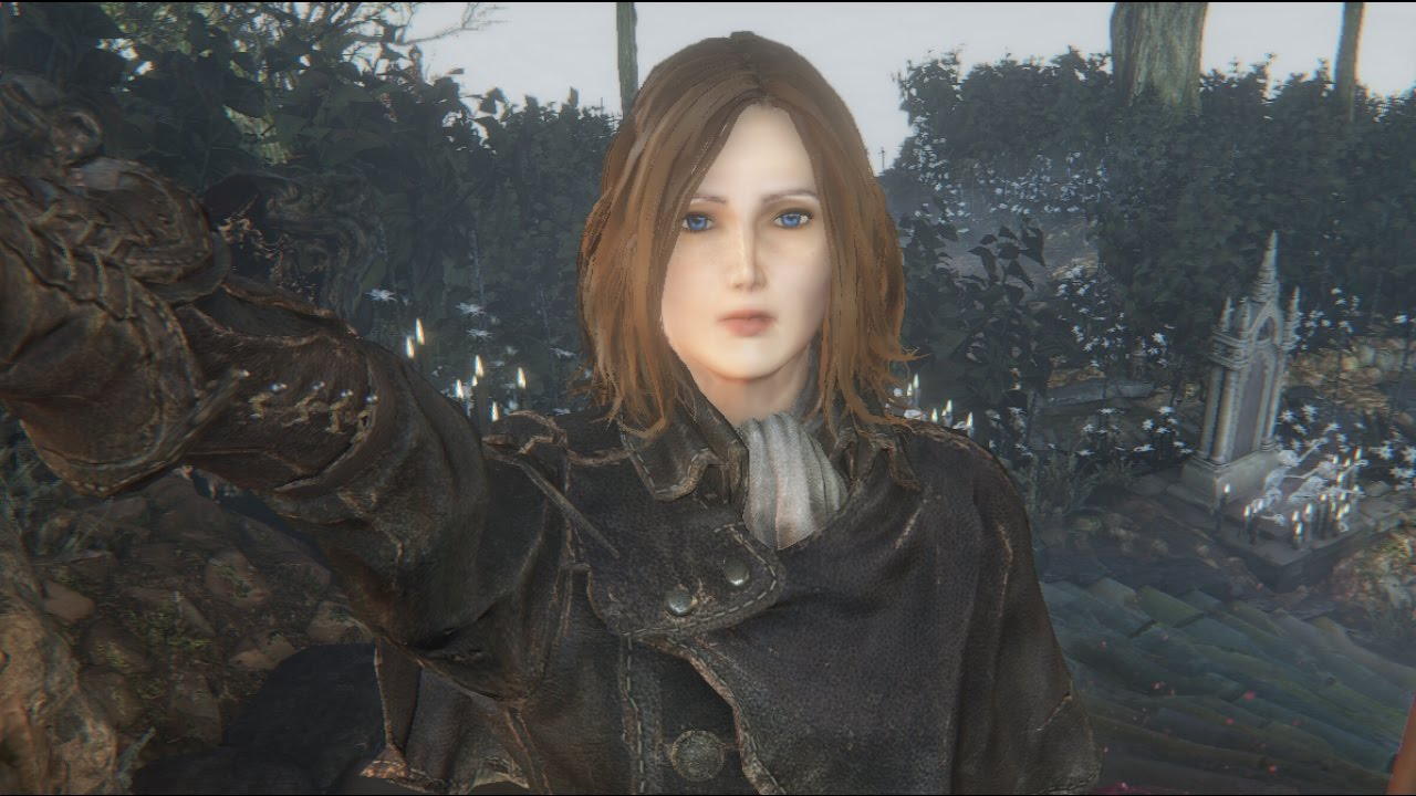 bloodborne character creation female youtube