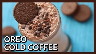 Oreo Milk Shake | Cold Coffee | Iced Coffee Recipe | Kids Special Recipe by Healthy Kadai