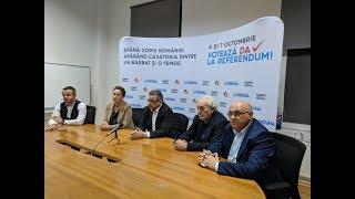 Coaliţia pentru Familie - Comitetul de Inițiativă Cetățenească - Declaraţie de presă -