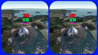 Mount Fuji 3d Vr Video Stereogram Magic Eye Video Tour With Google Earth