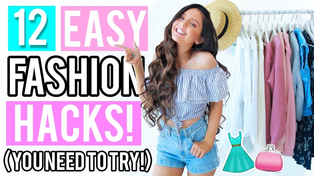 12 Clothing Hacks Everyone NEEDS To Try! + Testing DIY ...