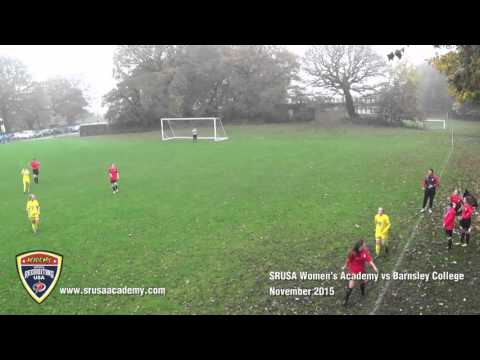 Sports Recruiting USA Female Academy vs Barnsley College
