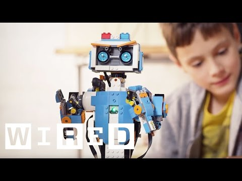 Lego's Boost Kit Turns Your Bricks Into Robots   WIRED UK
