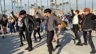 ATEEZ AT VENICE BEACH BONUS CLIPS + ATEEZ PERFORMANCES