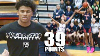 Jalen Green EPIC Playoff Game! 32 Points in 2nd Half 🔥 Responds To Overrated Chants