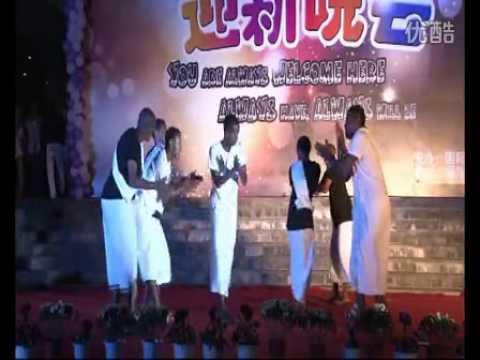 Somali Cultural Dance @ China-Hangzhou (ZUST).flv