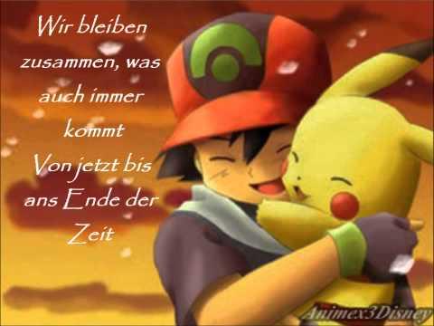 Pokémon -  Wir bleiben zusammen Lyrics