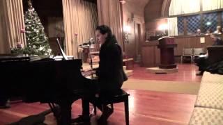Ricky Amadour sings O Holy Night, Christmas Eve, Sausalito Presbyterian Church