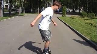 Видео уроки по слалому на роликах   ФизкультУРА   Яндекс 3