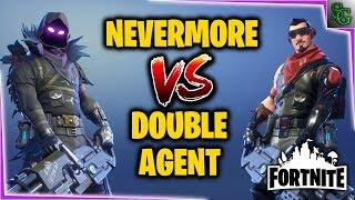 Fortnite - Hero Comparison - Nevermore VS Double Agent