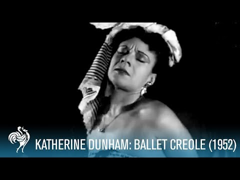 Katherine Dunham Performing Ballet Creole (1952) | British Pathé