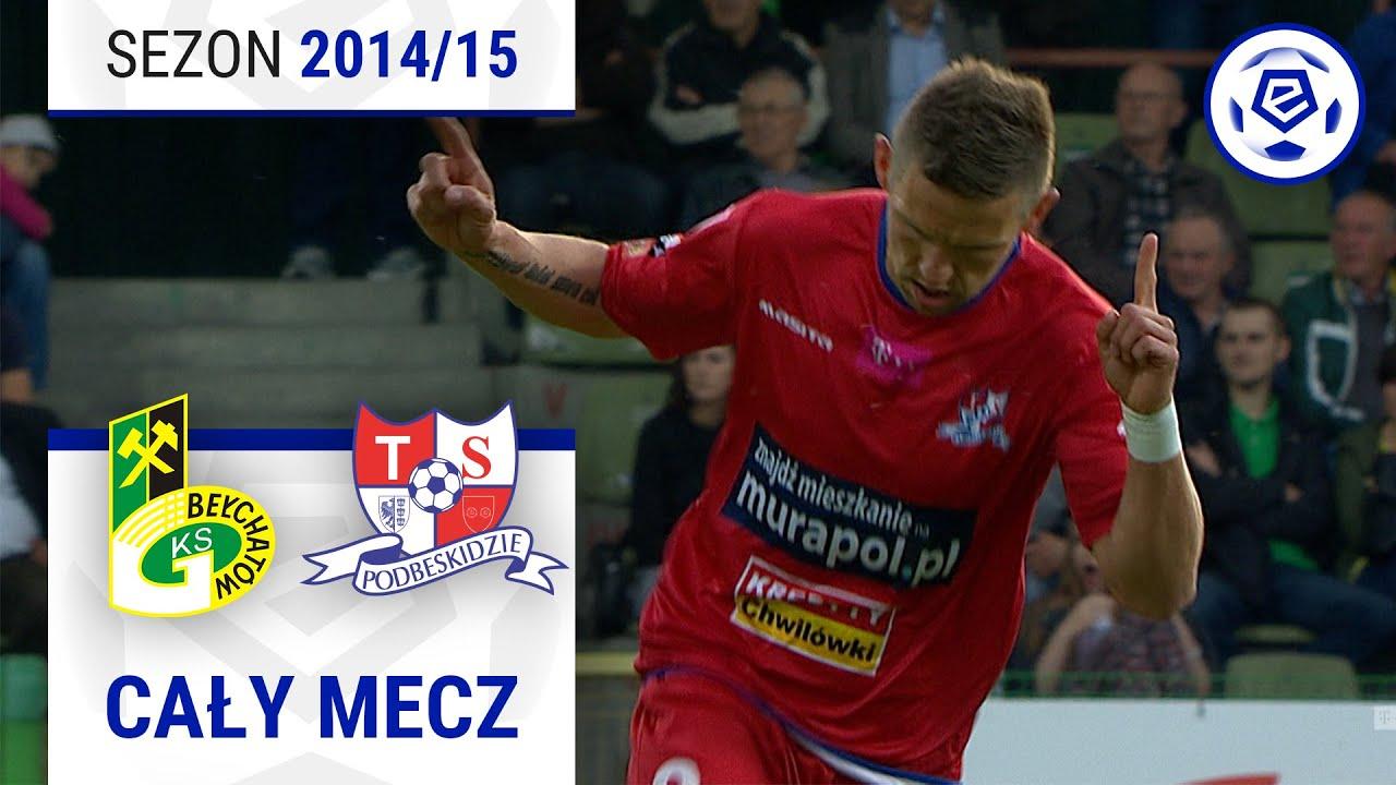 GKS Bełchatów – Podbeskidzie Bielsko-Biała [2. połowa] sezon 2014/15 kolejka 32