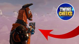 Twine Cheeks Scammed Me For The Rarest Gun In The World! - Fortnite Save The World