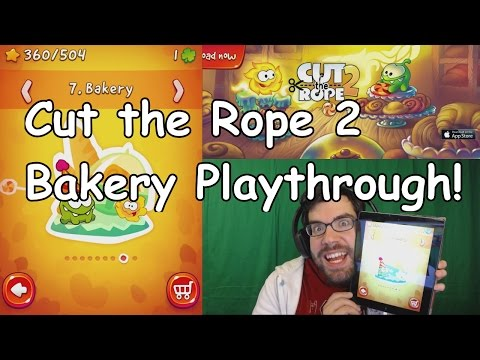 Mobile Monday: Cut the Rope 2 - Bakery Playthrough
