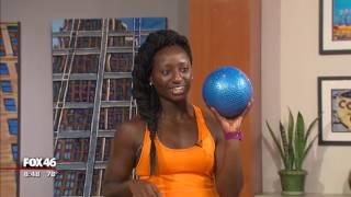 Good Day Charlotte: Medicine Ball Workouts