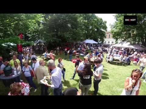 Big Green Egg Flavour Fair Belgium 2017 - Timelapse
