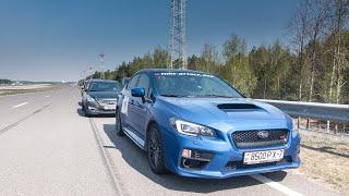 Тестдрайв: Subaru WRX STI. Часть2